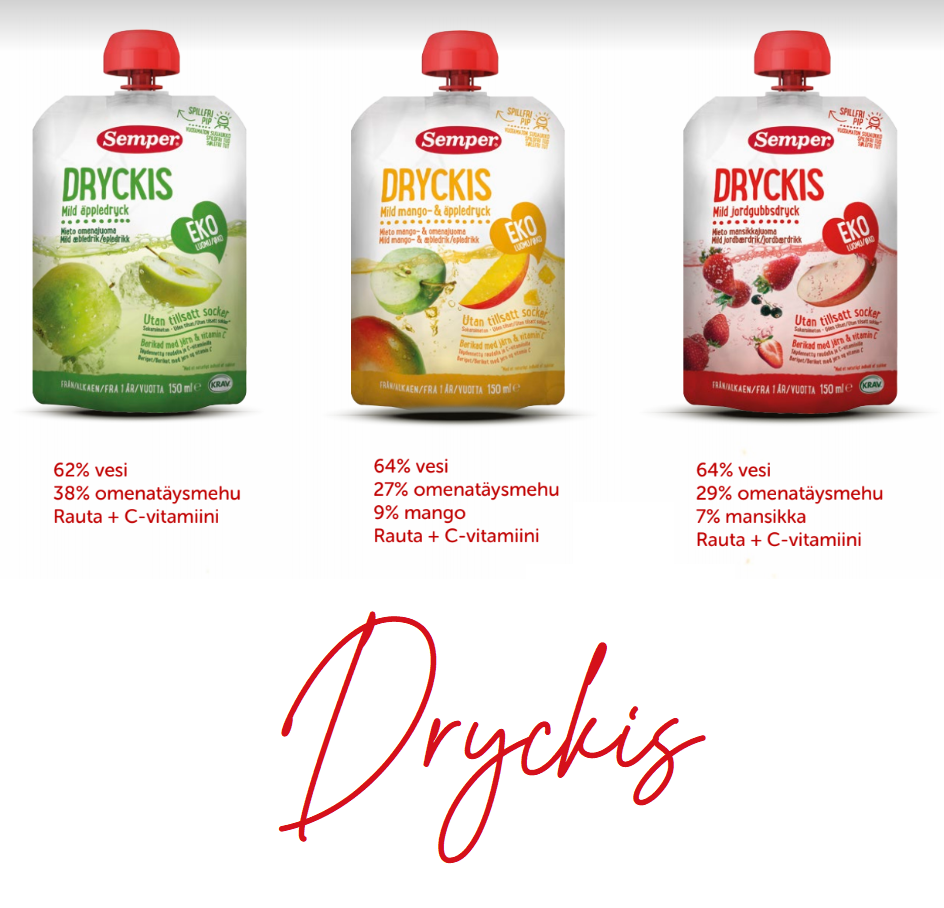 lasten juoma Dryckis